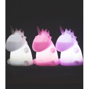 Lámpara de unicornio sentado