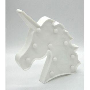 Lámpara de cabeza de unicornio