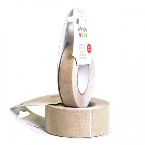 Linen adhesive ribbon