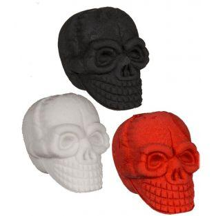 Set of 3 skull and crossbones erasers