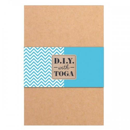 Bloc notes kraft 10 x 15 cm