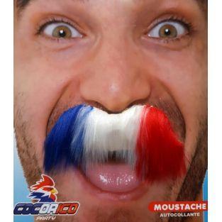 Tricolor mustache
