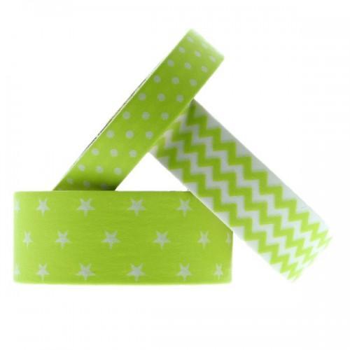 Masking tapes géométriques - Anis