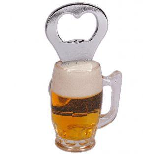 Abridor de botellas - Taza de cerveza