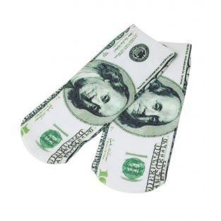 Un par de calcetines de dólar