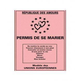 Licenza di matrimonio