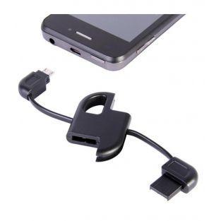 Llavero del cargador del Smartphone