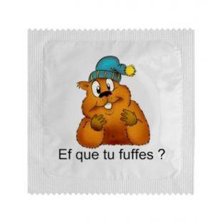 Kondom Ef, vor dem Sie weglaufen?