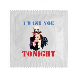 Kondome Ich möchte Sie heute Abend