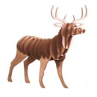 3D deer puzzle