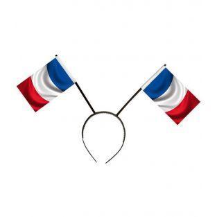 Headband tricolor flag