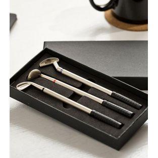 Set de 3 stylos club de golf