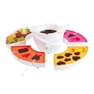 Schokoladen-Fondue-Set