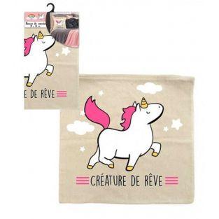 Funda de almohada Unicornio Criatura...