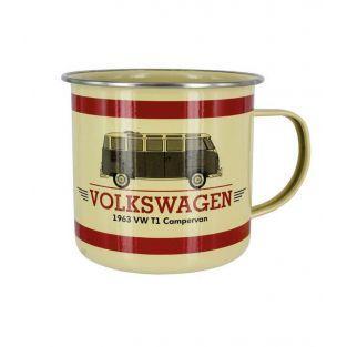 Oldtimer Stahlbecher Volkswagen...
