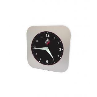 Smoke detector clock