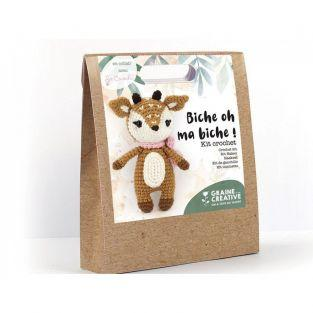 Doe Crochet kit 17 cm