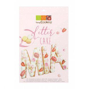 Coffret Letter cake