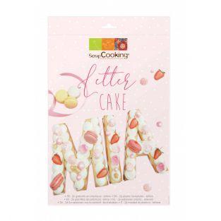 Letter cake box