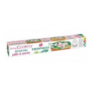 Pâte à sucre en rouleau - Tropical -...