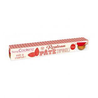 Pasta di mandorle in rotolo - Rosso -...