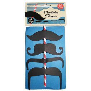 Paille moustaches