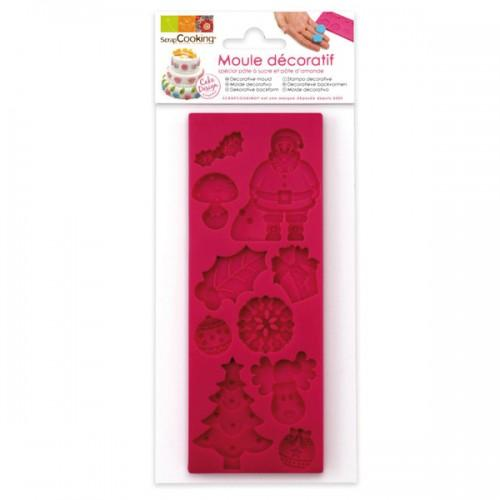 Christmas Silicone mould Sugarcraft