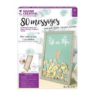 Cadre à messages - Baby shower...