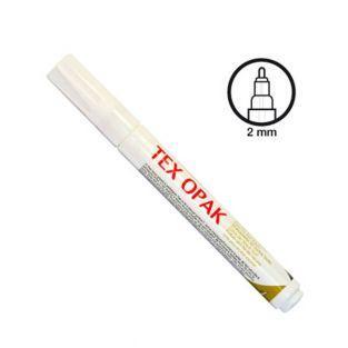 Textilfarbenfilz - Weiß matt
