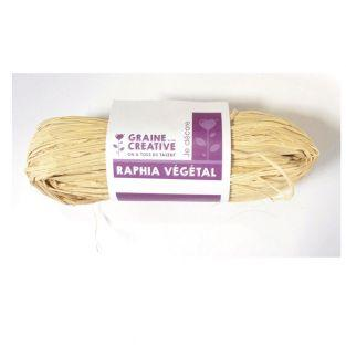 Natural vegetable raffia - 50 g