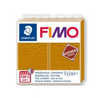 Fimo Paste 57 g - Leather effect - Ochre