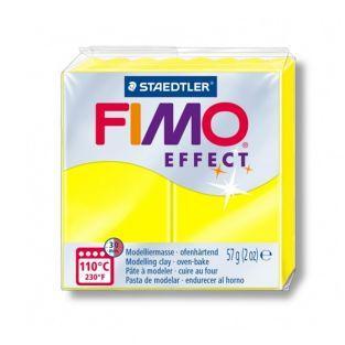 Fimo-Paste 57 g - Neon-Effekt - Gelb