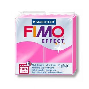 Fimo-Paste 57 g - Neon-Effekt - Fuchsia