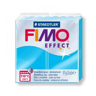 Pâte Fimo 57 g - Effet néon - Bleu
