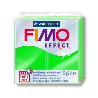Fimo Paste 57 g - Efecto Neón - Verde