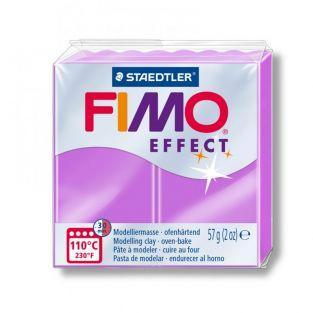 Pâte Fimo 57 g - Effet néon - Violet
