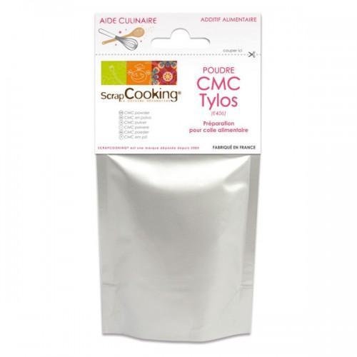 Poudre pour colle alimentaire CMC