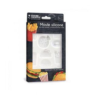 Silicone mould for polymer dough -...