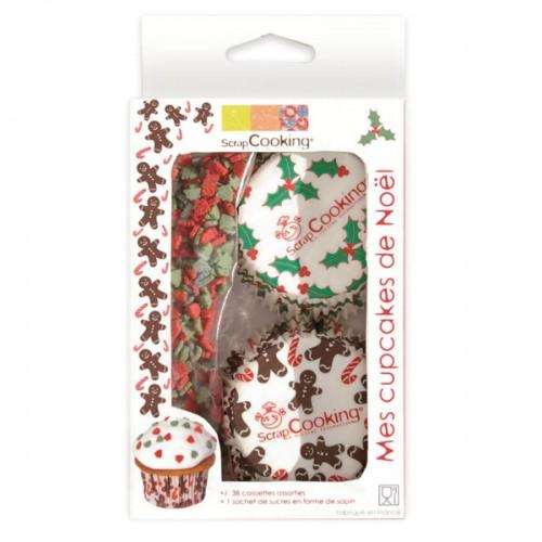 Kit cupcakes de Noël