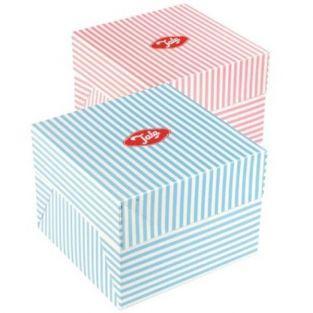 Vintage cake box - Pink -...