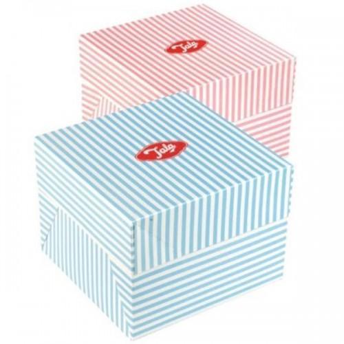 Boîte à pâtisserie vintage - Rose - 20 cm