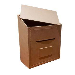 Letter box - 25 x 20 x 10 cm