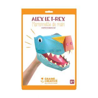 Títere de mano - T-rex