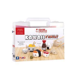 Caja de Fimo - Mi caja de sushi kawaii