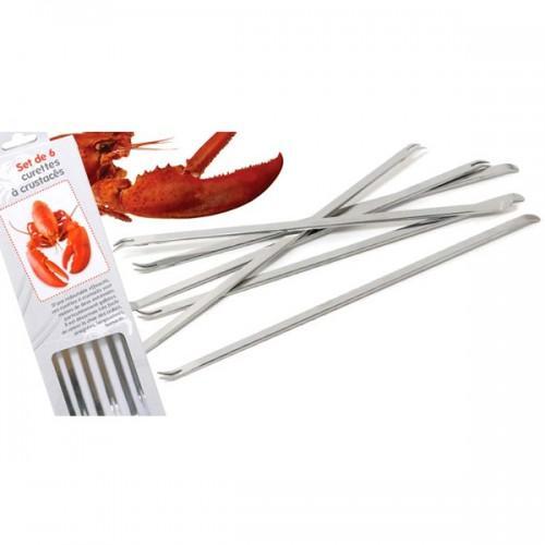 Crustacean Forks x 6