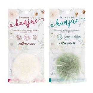 Duo of Konjac Nature sponge & Konjac...