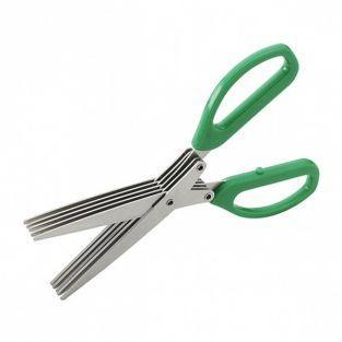 Tijeras de hierbas 5 cuchillas