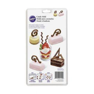 Moulds - Dessert decorations