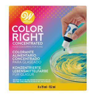 Kit de 8 colorants alimentaires Color...