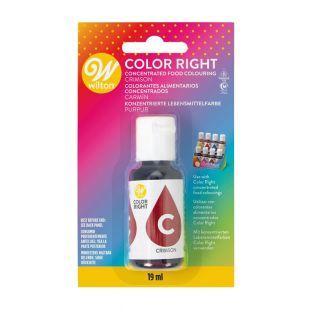 Farbe Rechte Lebensmittelfarbe -...